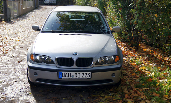 Авто на иностранных номерах