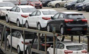 Автомобили, ввезенные в РФ