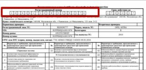 Регистрационный номер
