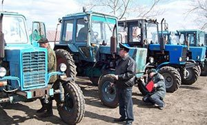Техосмотр тракторов