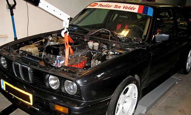 Замена двигателя на менее мощный
