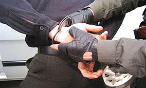 Арест за кражу авто