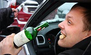 Признаки пьяного водителя