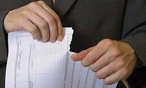Расторжение договора по инициативе страховщика