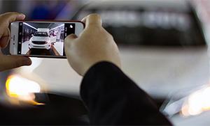 Как фотографировать авто