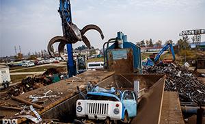 Утилизация грузовых машин