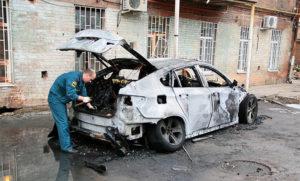 Экспертиза горевшего авто