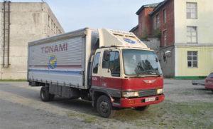 Прокат грузовой техники
