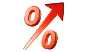 Процентная ставка выше