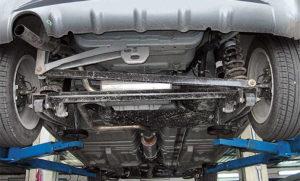 Проверить нижнюю часть авто