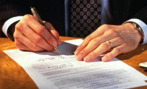Оформление договора при аренде