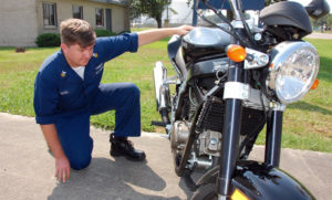 Осмотр мотоцикла