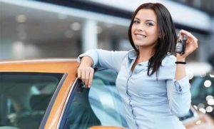 Покупка авто девушке