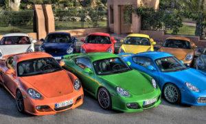 Выбор цвета авто