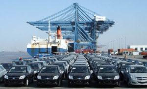 Ввоз китайских автомобилей