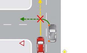 ДТП при повороте налево и обгоне