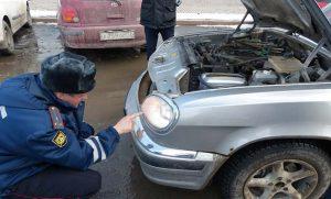 Проверка фар авто