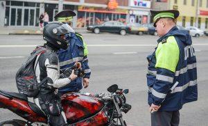 Вождение мотоцикла без прав