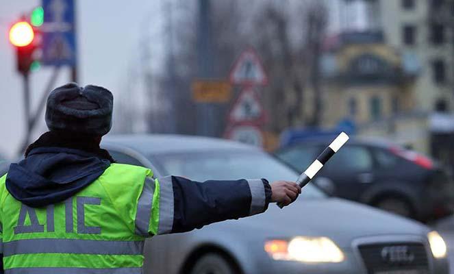 Водитель не остановился по требованию сотрудника ДПС