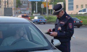 Ответственность за езду на незарегистрированном авто