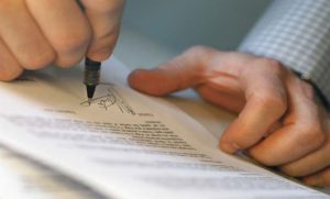 Подделка подписи на ДКП