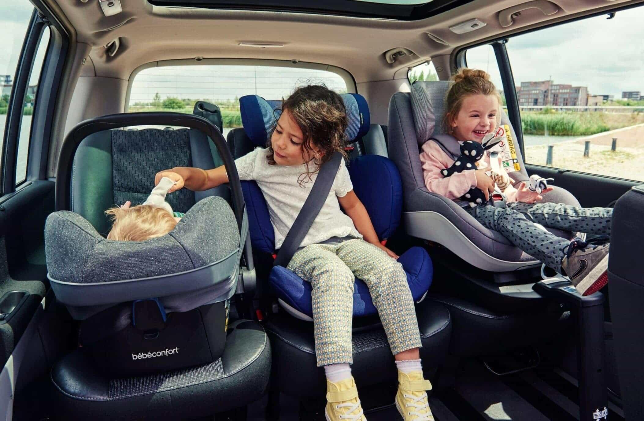правила перевозки детей на заднем сидении автомобиля