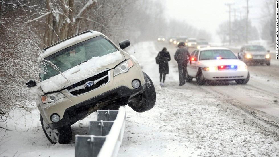 Какой штраф применяется за наезд на препятствие